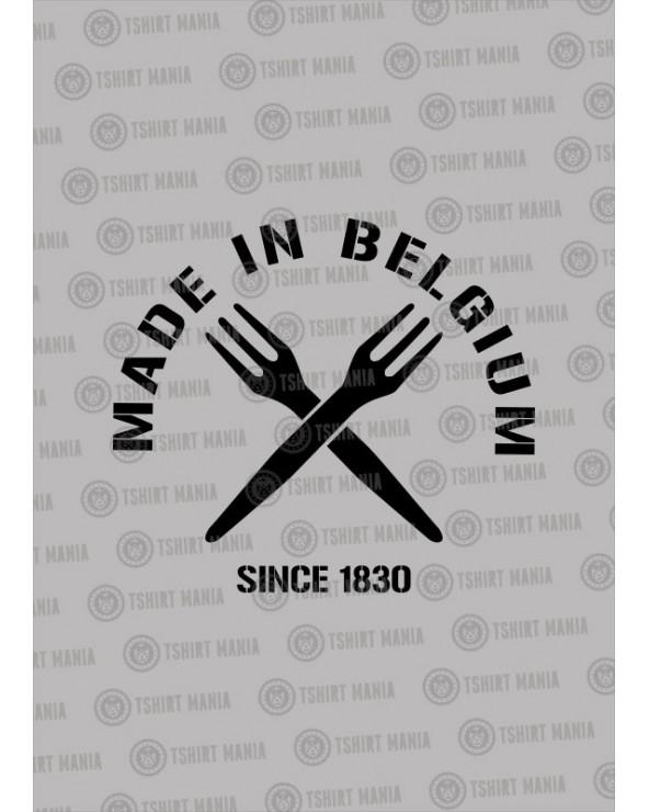 Made in Belgium 1830 !