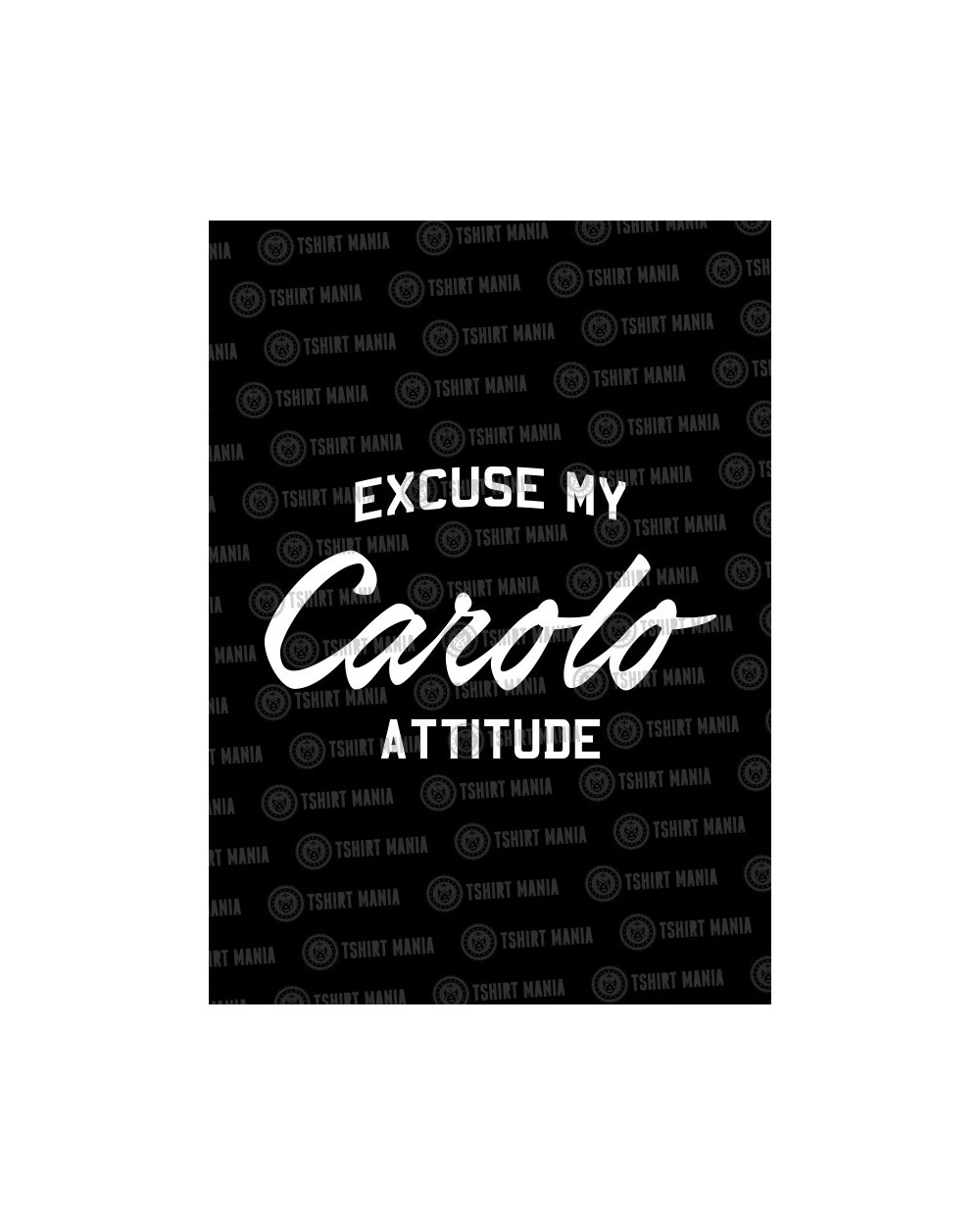 excuse my carolo attitude homme