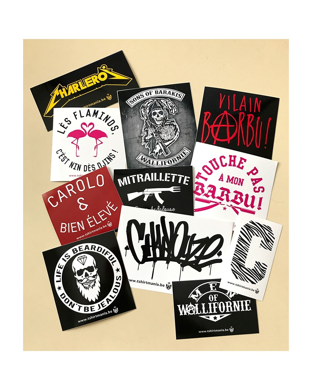 Pack Stickers 1