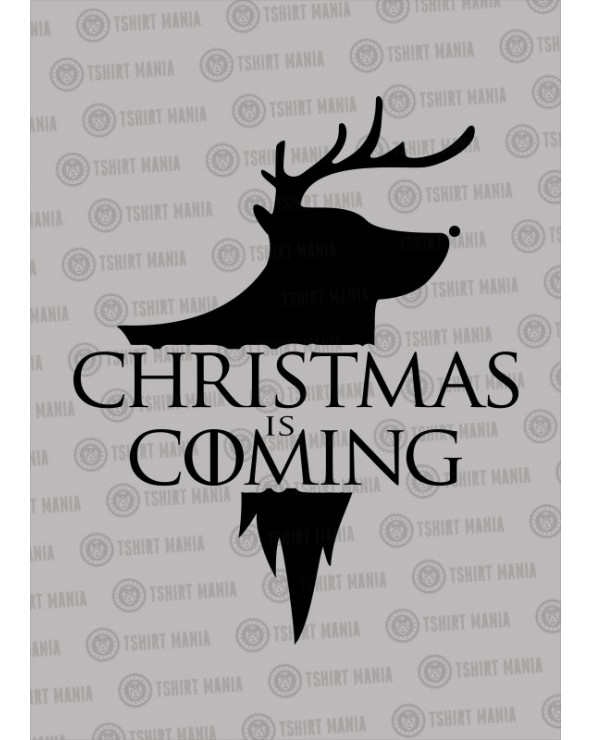 Christmas is coming cerf !