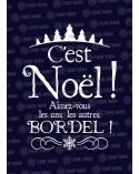 C'est Noël Bordel! Sweat