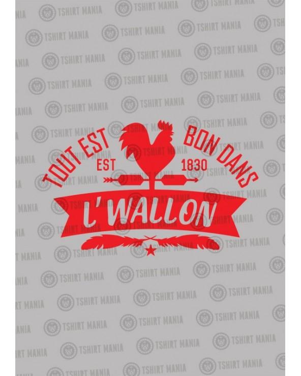 Tout est bon dans l'Wallon Tshirt