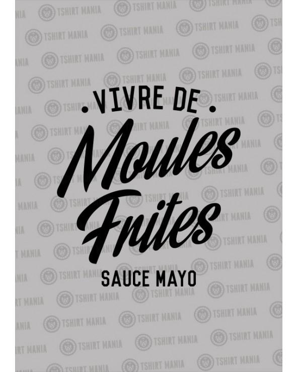 Vivre de moules, frites sauce mayo Sweat