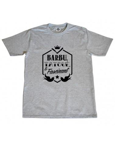 Barbu, tatoué et fascinant !