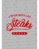 j'men bats les steak t-shirt