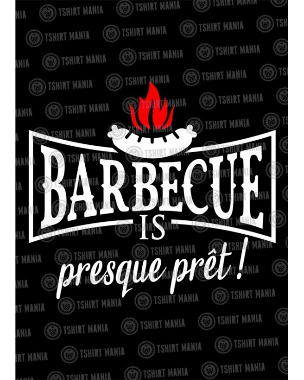 Barbecue is presque prêt