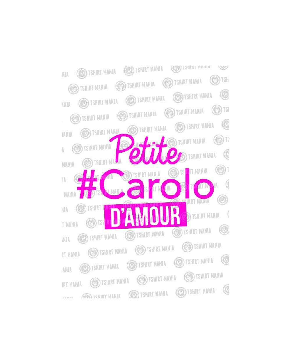 Petite Carolo D'amour tshirt