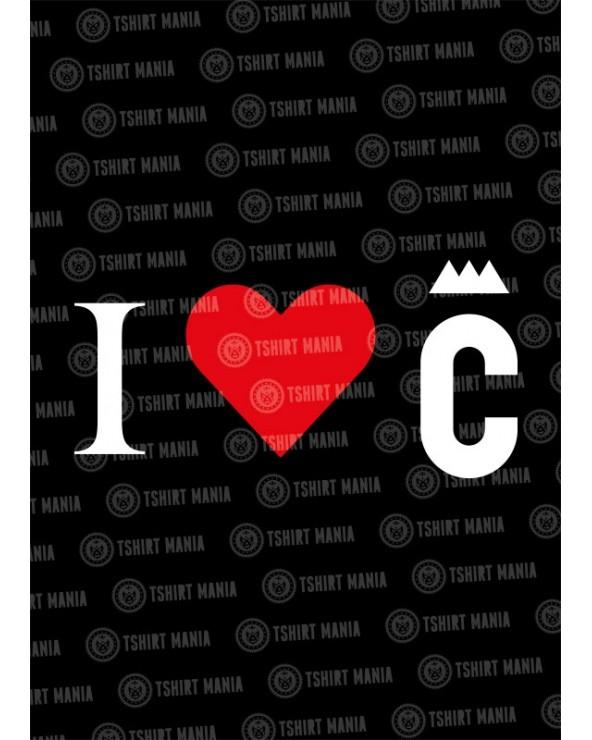 I Love C Tshirt