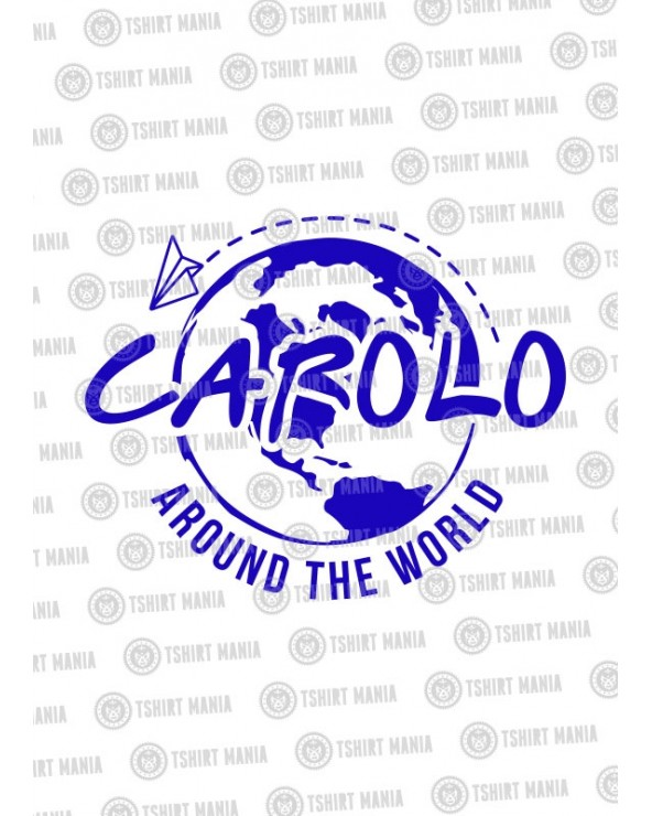Carolo Around the World Tshirt