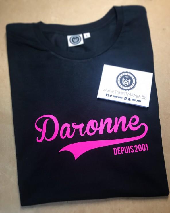 Personnalisation Daronne