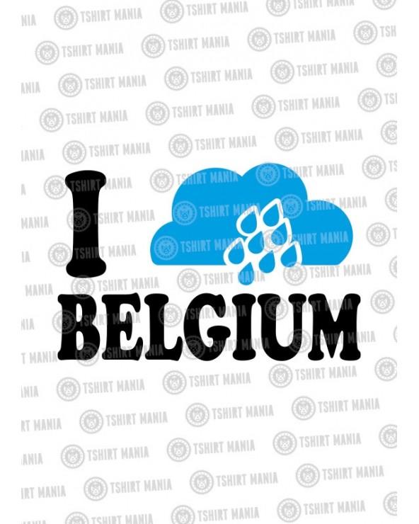 I Rain Belgium Tshirt