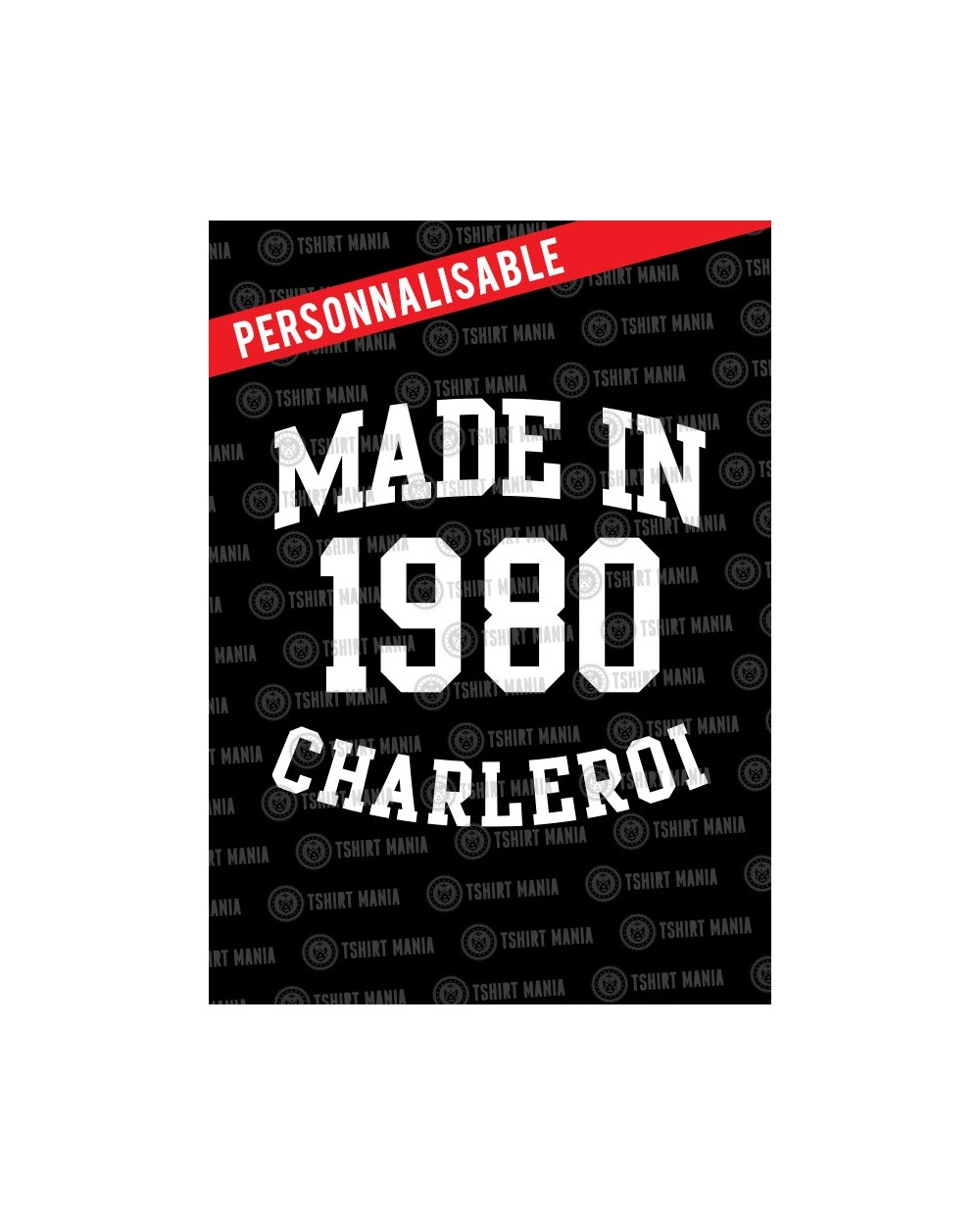 Made in Charleroi Perso Sweat