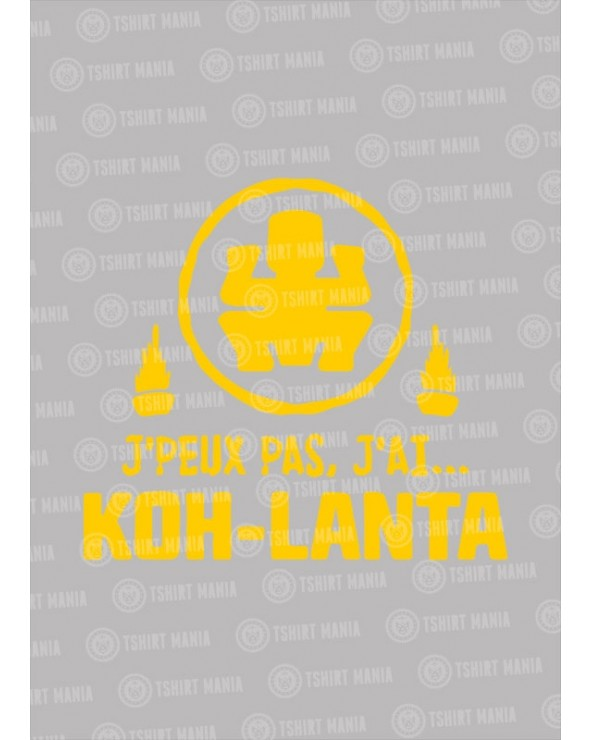 J'peux pas j'ai Kho-lanta