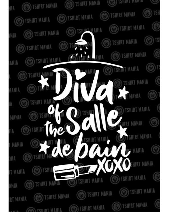 Diva of the salle de bain Sweat