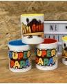 Mug Super Papa & Papa Génial