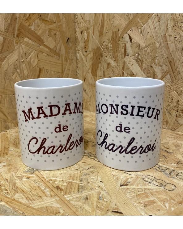 Mug Mr et Mde de Charleroi