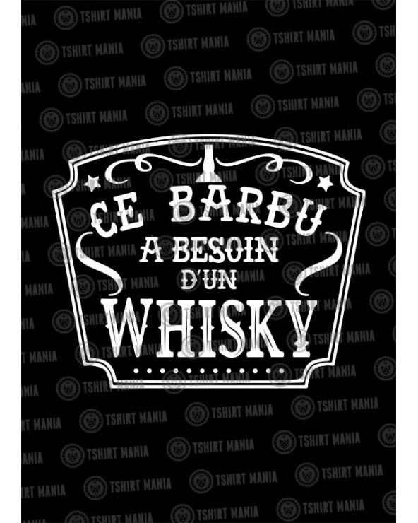 Ce barbu a besoin d'un whisky