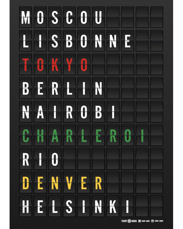 Poster Carolo around the world