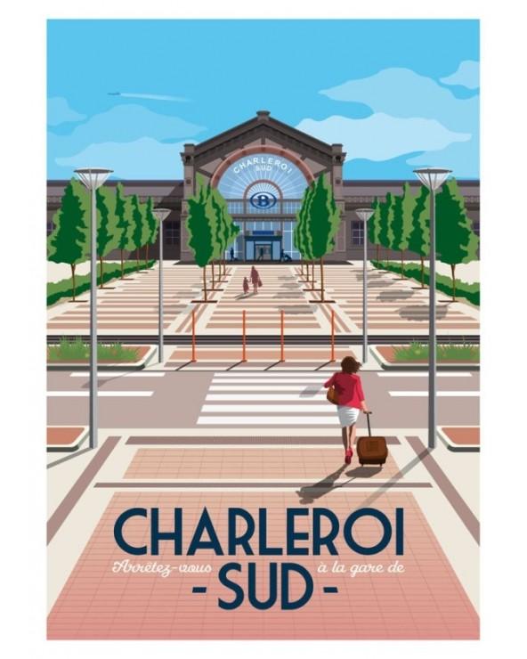 Poster Gare de Sud