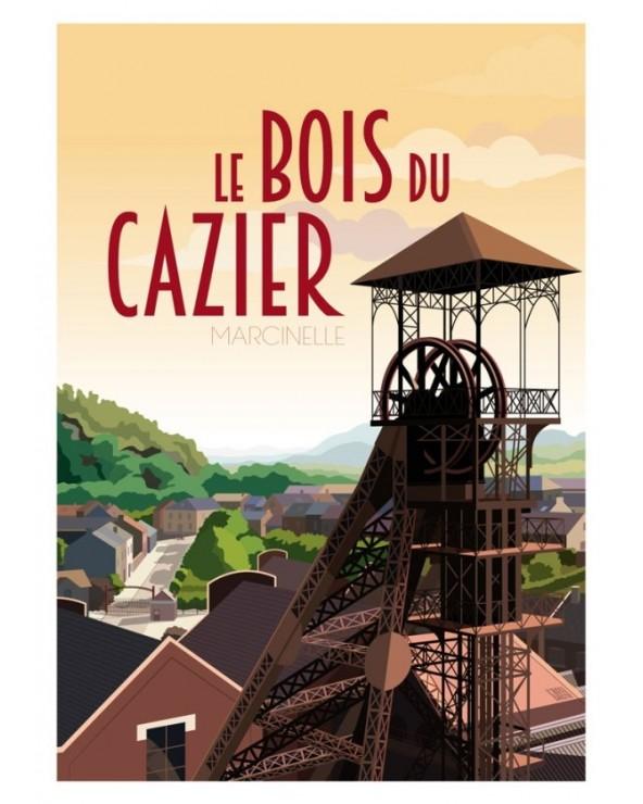 Poster Bois du Cazier