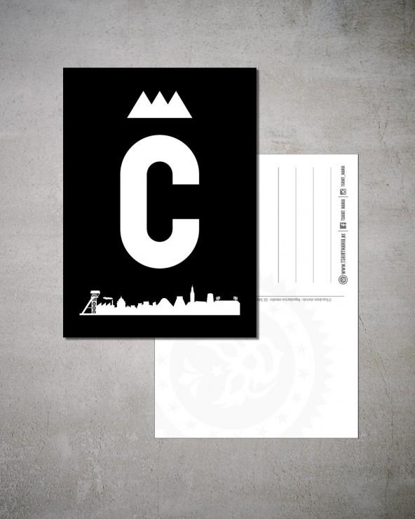 "Carte Postale ""C Charleroi"""