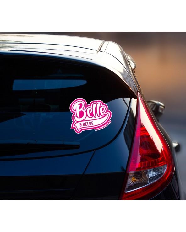 Belle et Belge Sticker