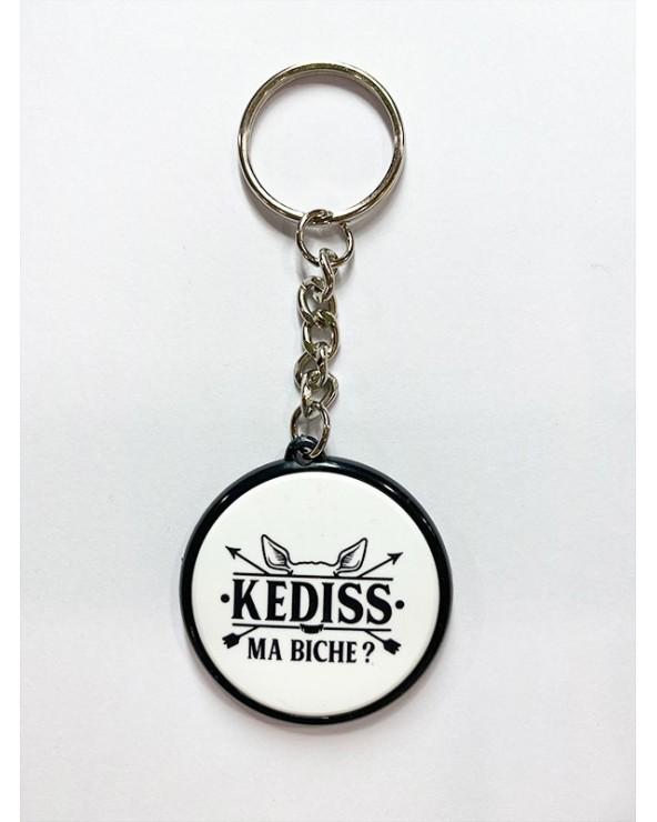 Kediss Ma biche porte clé