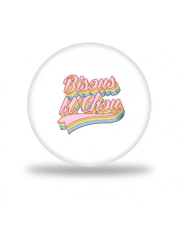 Bisous M'Chou Color Badge