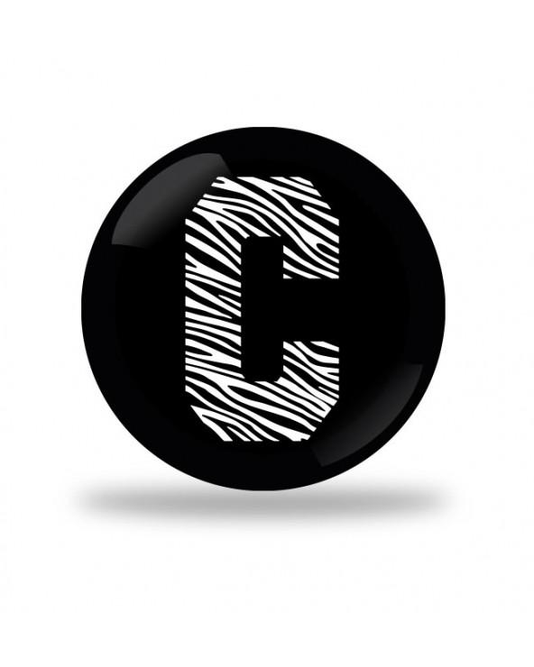 C Zebra Color Badge