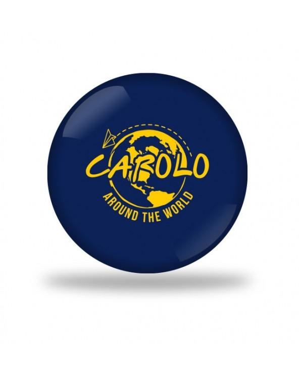 Carolo around the world Badge