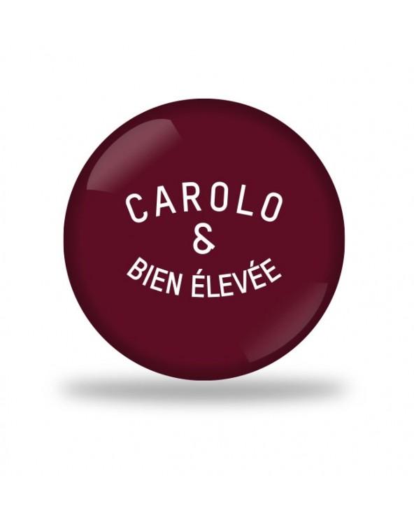 carolo et bien élevé Badge
