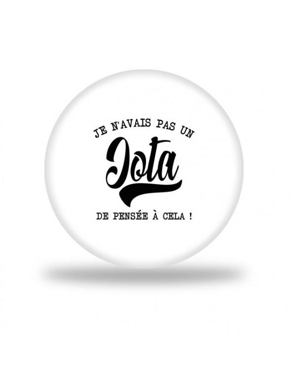 Iota Badge