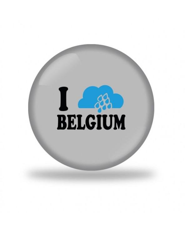 I Rain Belgium Badge