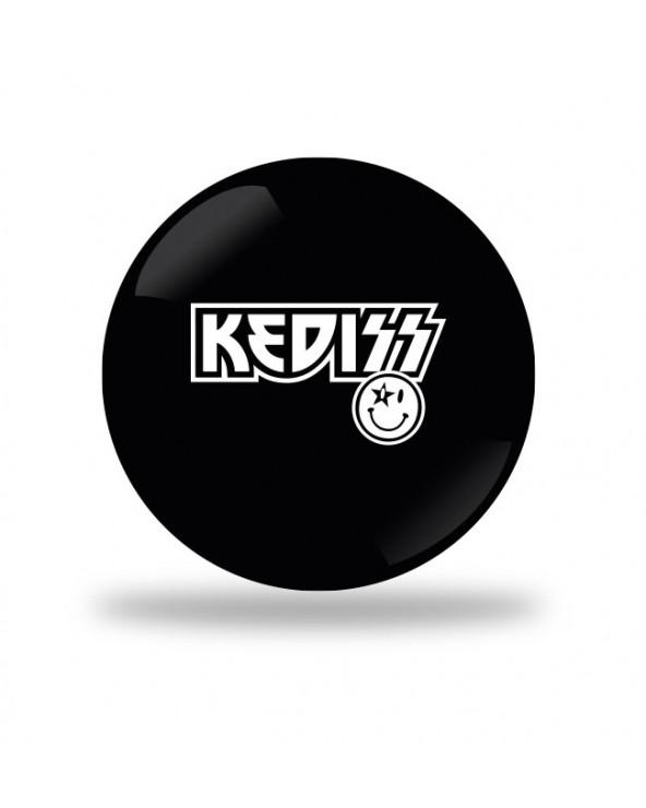 Kediss Kiss Badge