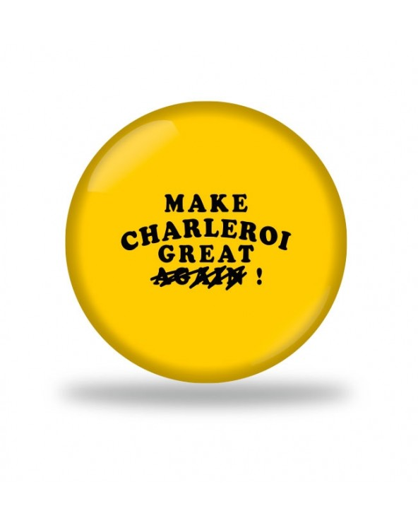 Make Charleroi Great Badge