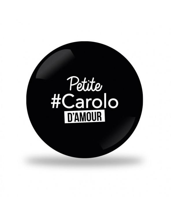 Petite Carolo d'Amour Badge