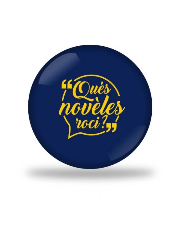 Qué noveles Badge