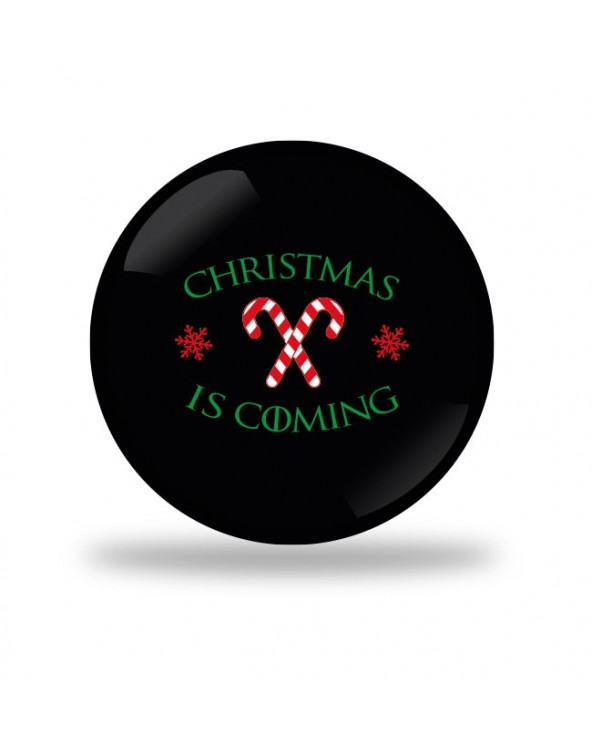 Christmas is coming Candy Badge