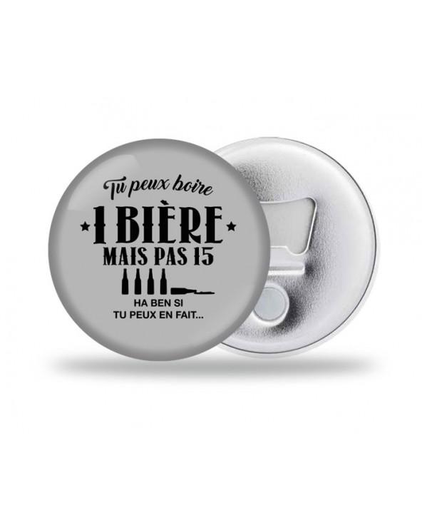 Boire 15 Bières Décapsuleur