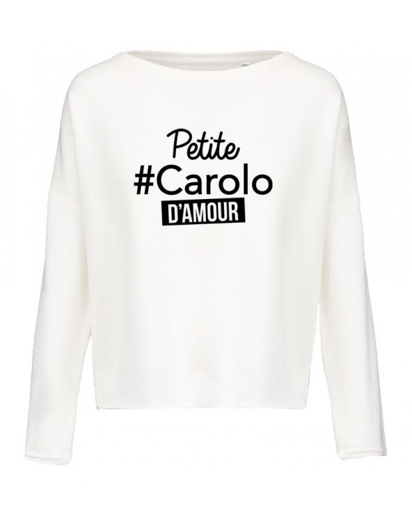 Carolo & bien élevée Sweat Loose