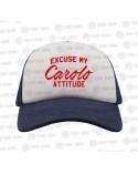 Excuse my Carolo Attitude Casquette
